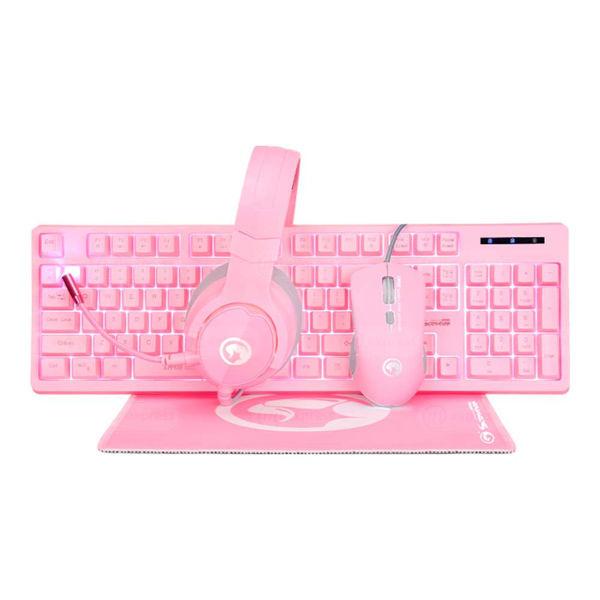 kit, gaming, scorpion-marvo, cm418, teclado, mouse, diadema, mousepad