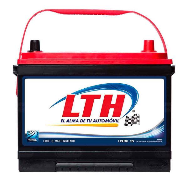batería, carro, lth, l-24-530, acumulador, pila