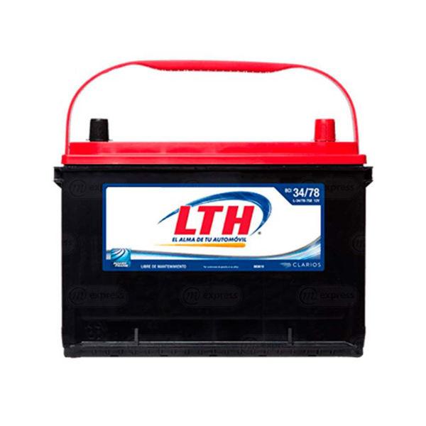 batería, carro, lth, l-34/78-750, acumulador, pila