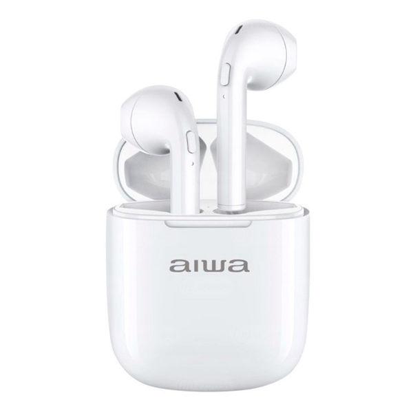 audífonos, aiwa, awtwsd1, buds, auricular, pastilla