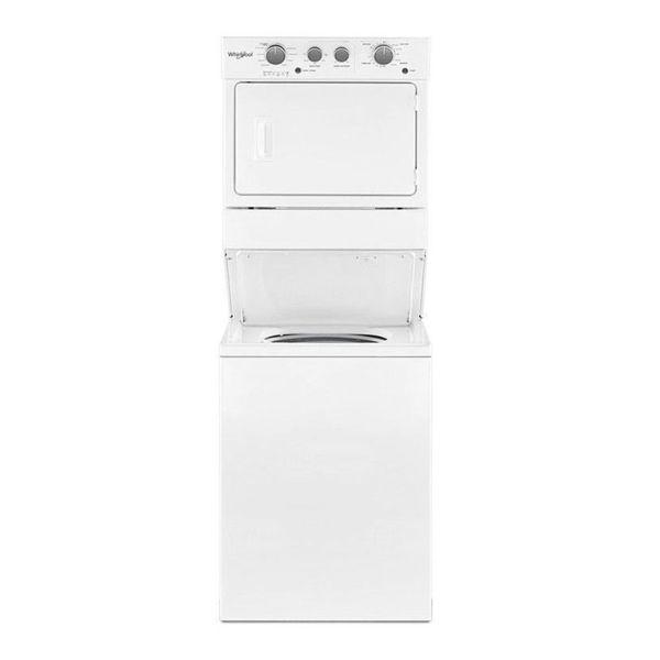 linea blanca, centro, lavado, whirlpool, 7mwet4027hw, electrico, lavadora, secadora, todo en uno, gas